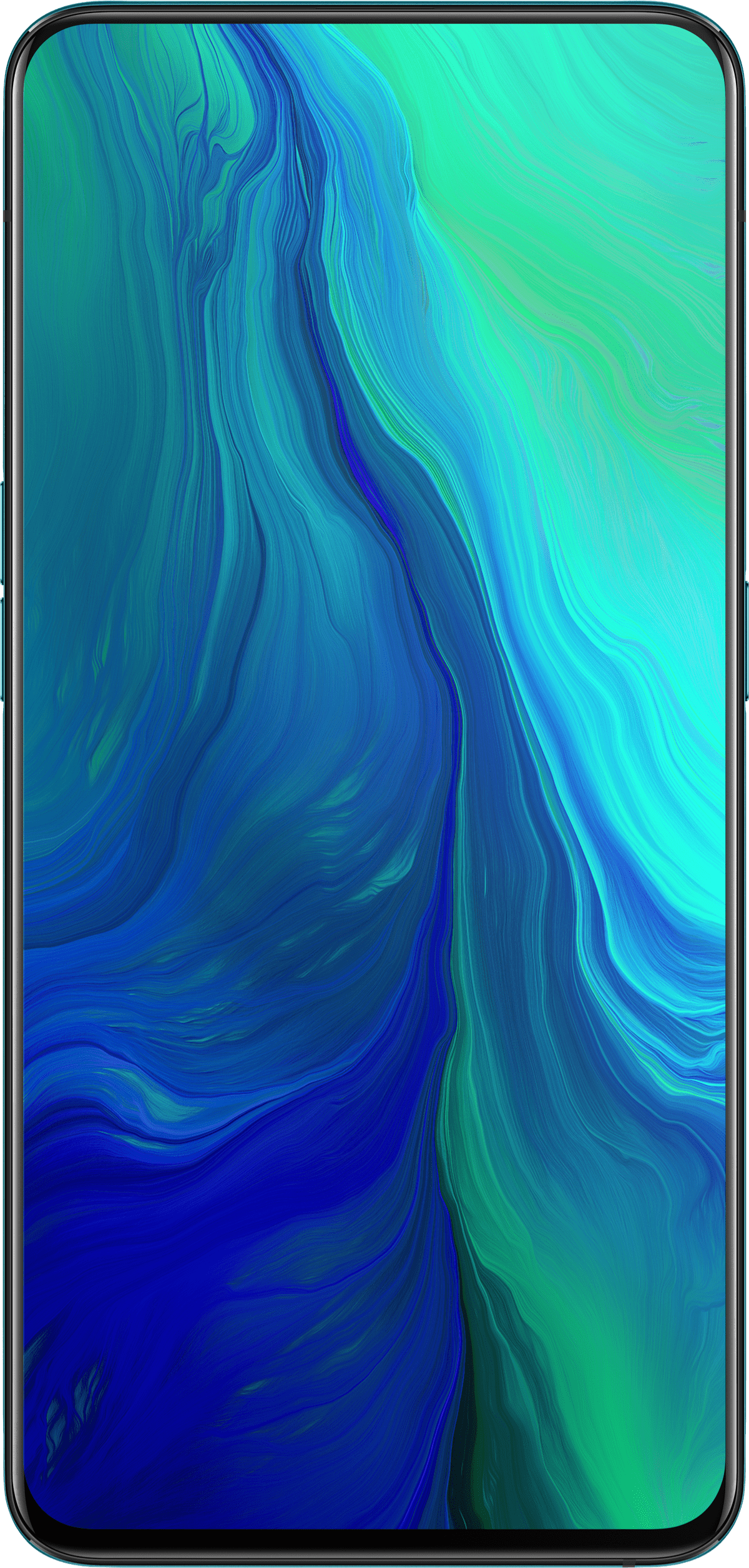 OPPO Reno 5G - panoramic screen